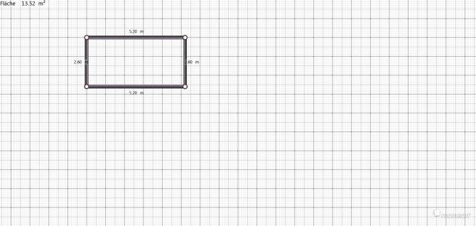 Raumgestaltung Grundriss in der Kategorie Schlafzimmer