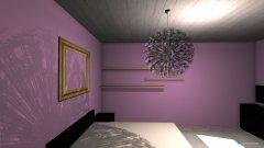 Raumgestaltung Grundrissvorlage Eckraum in der Kategorie Schlafzimmer