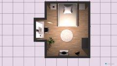 Raumgestaltung Grundrissvorlage Erker in der Kategorie Schlafzimmer