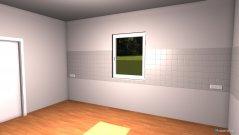 Raumgestaltung Grundrissvorlage Küche in der Kategorie Schlafzimmer