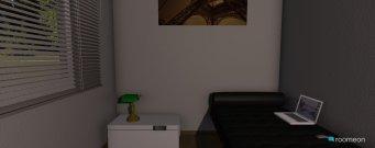 Raumgestaltung Grundrissvorlage L-Form in der Kategorie Schlafzimmer