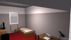 Raumgestaltung Grundrissvorlage mein Zimmer alt in der Kategorie Schlafzimmer