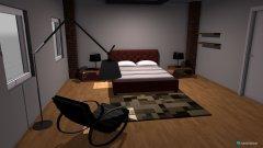 Raumgestaltung Grundrissvorlage Quadrat 2 in der Kategorie Schlafzimmer
