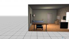 Raumgestaltung Grundrissvorlage Quadrat5 in der Kategorie Schlafzimmer