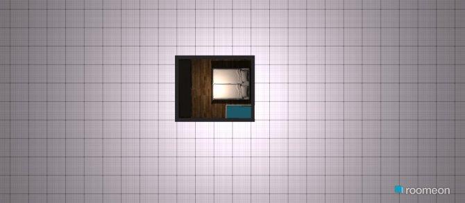Raumgestaltung Grundrissvorlage Quadrat in der Kategorie Schlafzimmer