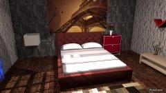 Raumgestaltung Grundrissvorlage Quadratczsz in der Kategorie Schlafzimmer