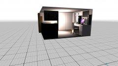 Raumgestaltung Grundrissvorlage Quadratu in der Kategorie Schlafzimmer