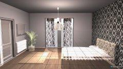 Raumgestaltung Grundrissvorlage Schlafzimmer in der Kategorie Schlafzimmer