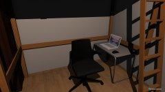 Raumgestaltung Grundrissvorlage SZ1 D.H. in der Kategorie Schlafzimmer
