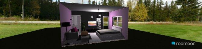 Raumgestaltung Grundrissvorlage Zimmer K in der Kategorie Schlafzimmer