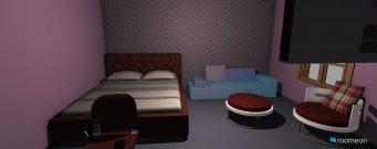 Raumgestaltung Grundrissvorlagroe Quadrat in der Kategorie Schlafzimmer