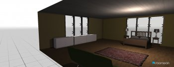 Raumgestaltung guest room in der Kategorie Schlafzimmer