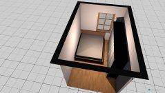 Raumgestaltung Hálószoba 1 in der Kategorie Schlafzimmer