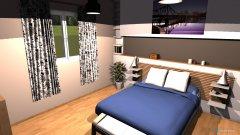 Raumgestaltung habitación in der Kategorie Schlafzimmer