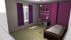 Raumgestaltung habitacion sara 2 in der Kategorie Schlafzimmer