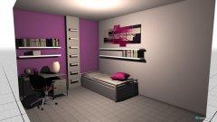Raumgestaltung habitacion sara in der Kategorie Schlafzimmer