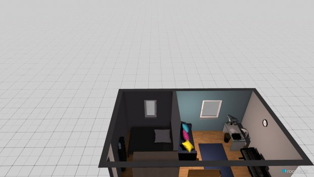 Raumgestaltung hannah2 in der Kategorie Schlafzimmer