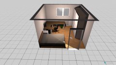 Raumgestaltung Hannes1 in der Kategorie Schlafzimmer