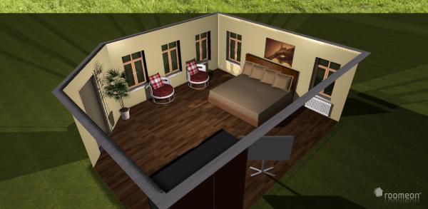 Raumgestaltung Haus 1 in der Kategorie Schlafzimmer