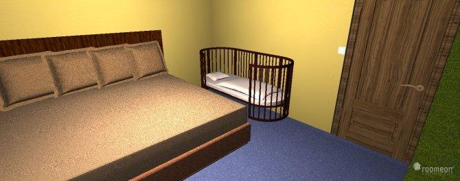 Raumgestaltung Haus Feldbrand in der Kategorie Schlafzimmer
