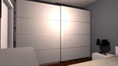 Raumgestaltung Haus Opi3 in der Kategorie Schlafzimmer
