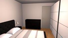 Raumgestaltung Hermannstr. Schlafzimmer in der Kategorie Schlafzimmer