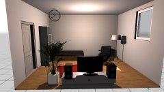 Raumgestaltung Herrenzimmer in der Kategorie Schlafzimmer
