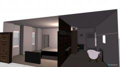 Raumgestaltung Hofzimmer in der Kategorie Schlafzimmer