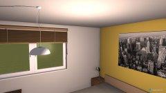 Raumgestaltung hosťovská in der Kategorie Schlafzimmer