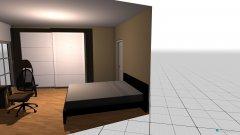 Raumgestaltung hotelturm_schlafzimmer in der Kategorie Schlafzimmer