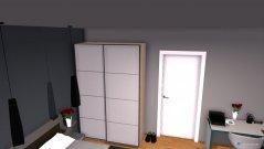 Raumgestaltung Hotelzimmer in der Kategorie Schlafzimmer