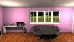 Raumgestaltung Huge Bedrrom in der Kategorie Schlafzimmer
