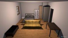 Raumgestaltung Ina's Zimmer .2 in der Kategorie Schlafzimmer