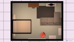 Raumgestaltung indeling slaapkamer in der Kategorie Schlafzimmer