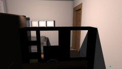 Raumgestaltung ines Tom Zimmer in der Kategorie Schlafzimmer