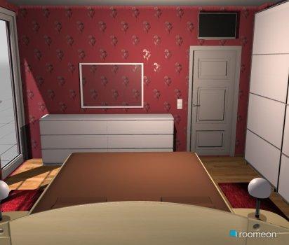 Raumgestaltung Ingo 1 in der Kategorie Schlafzimmer