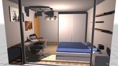 Raumgestaltung Iulia's kamer in der Kategorie Schlafzimmer