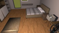 Raumgestaltung izba in der Kategorie Schlafzimmer