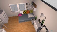 Raumgestaltung jacquelines neues zimmer in der Kategorie Schlafzimmer