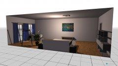 Raumgestaltung Jäger_Schafzimmer gerade aus in der Kategorie Schlafzimmer