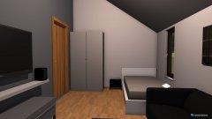 Raumgestaltung Jakobs Jiffer Zuhause in der Kategorie Schlafzimmer