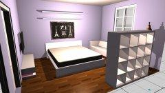 Raumgestaltung Jasmina's Zimmer 2 in der Kategorie Schlafzimmer