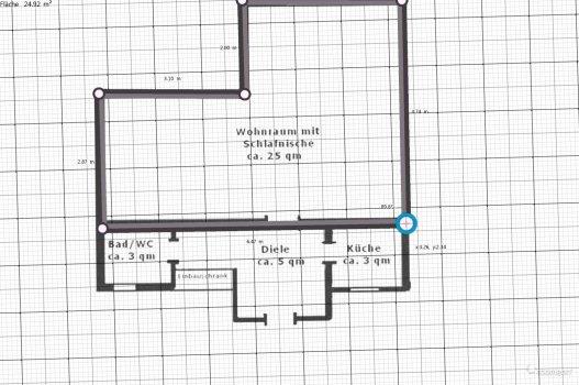 Raumgestaltung Jenny2 in der Kategorie Schlafzimmer
