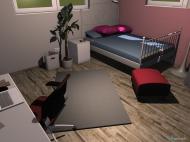 Raumgestaltung Jessis Zimmer ca. 1 in der Kategorie Schlafzimmer