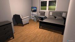 Raumgestaltung Jessis Zimmer in der Kategorie Schlafzimmer