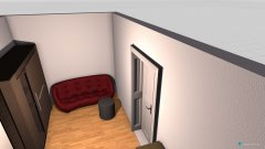Raumgestaltung Jettes Zimmer in der Kategorie Schlafzimmer