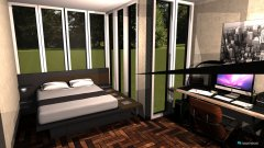 Raumgestaltung Jihos Schlafzimmer in der Kategorie Schlafzimmer