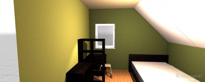 Raumgestaltung Jörns Zimmer in der Kategorie Schlafzimmer