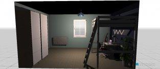 Raumgestaltung Josh in der Kategorie Schlafzimmer