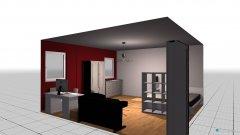 Raumgestaltung Josis Zimmer in der Kategorie Schlafzimmer